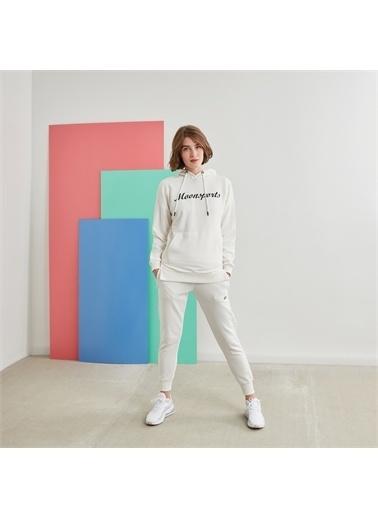 MoonSports Pantolon Beyaz